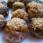 Mushrooms Stuffed with Butternut Squash