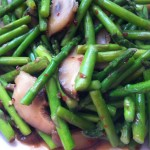 Asparagus and Shiitake Mushroom Stir Fry