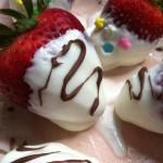 Frozen Honey Greek Yogurt Dipped Strawberries