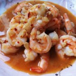 Spicy Garlic Soy Shrimp