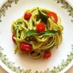 Creamy Avocado Tomato Basil Pasta