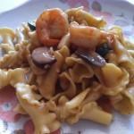 Cajun Shrimp Pasta Marsala