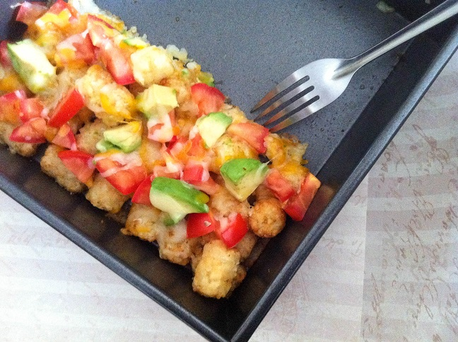 Loaded Tater Tot Casserole | Cooking with a Wallflower