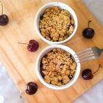 Sweet Cherry Crumble