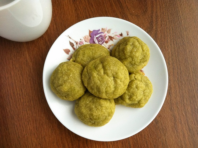 Green Tea Cookies | Cooking with a Wallflower