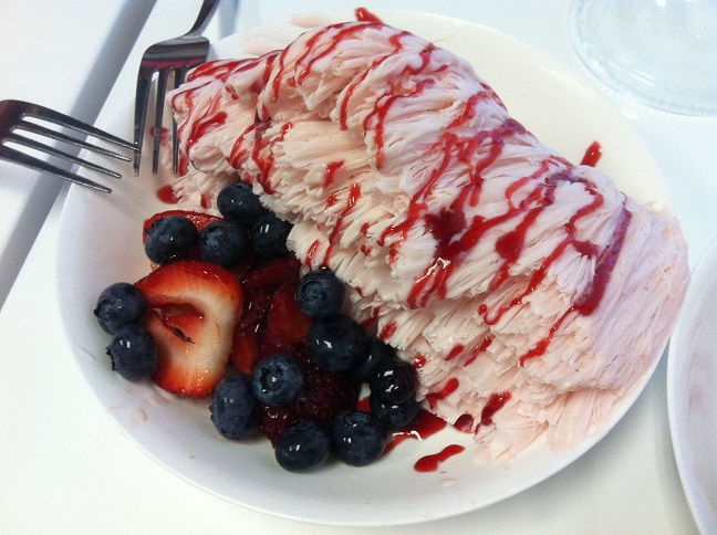 Berry Good Shaved Snow @ Sno-Zen