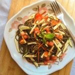 Soba Noodle Salad with Spicy Soy Lime Dressing