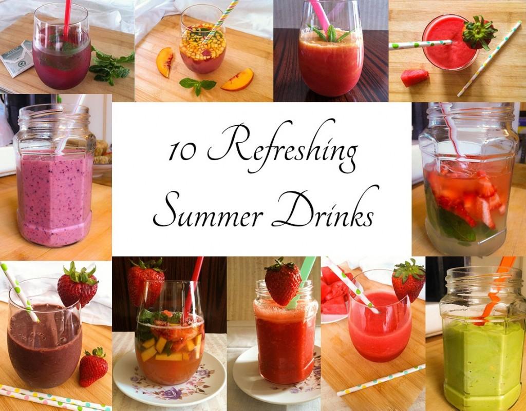 10 Refreshing Summer Drinks