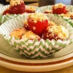 Cheesecake Filled Raspberries