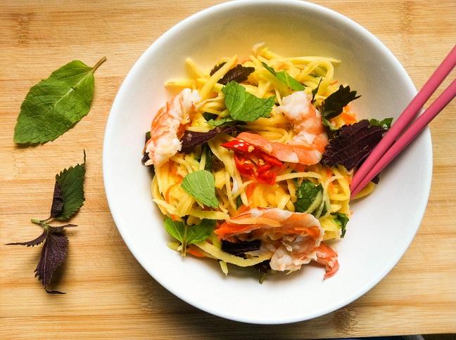 Shrimp Mango Salad