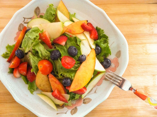 Summer Berry Salad   Cooking with a Wallflower
