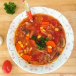 Garden Vegetable Soup and Fiesta Friday