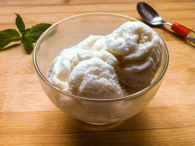 Coconut Ice Cream | Cooking with a Wallflower