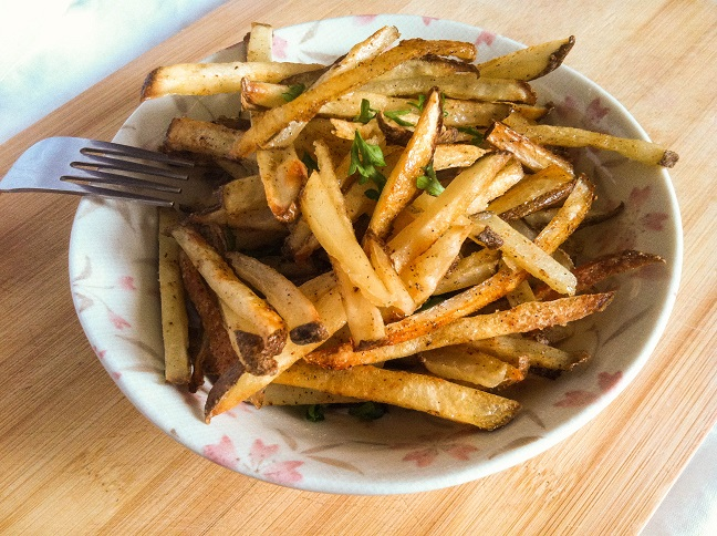 Baked Cajun Fries | Cooking with a Wallflower