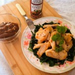 Thai Chicken with Coconut Peanut Sauce