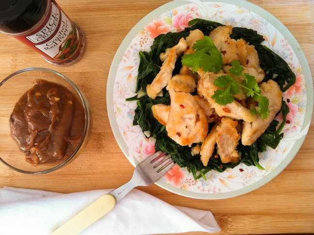 Thai Chicken with Coconut Peanut Sauce