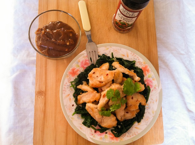 Thai Chicken with Coconut Peanut Sauce | Cooking with a Wallflower