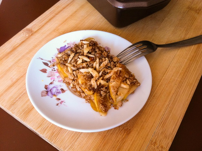 Autumn Apple Crisp   Cooking with a Wallflower