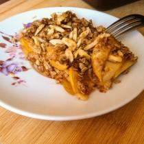 Autumn Apple Crisp | Cooking with a Wallflower