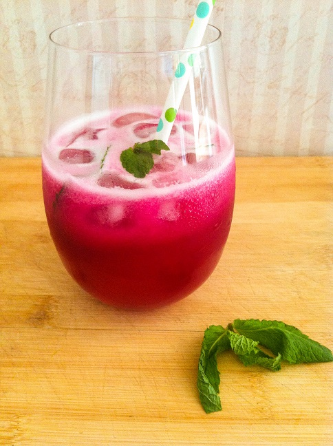 Prickly Pear Lemonade | Cooking with a Wallflower