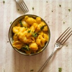 Pumpkin Kale Mac and Cheese