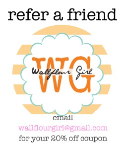 Wallflour Girl Etsy Giveaway