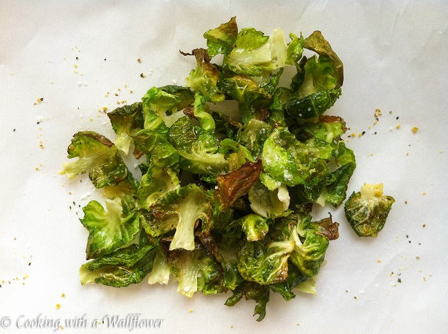 Brussels Sprouts Chips | Cooking with a Wallflower