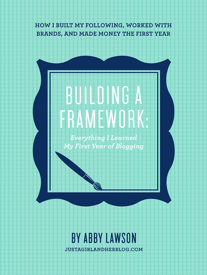 Building A Framework by Abby Lawson @ Just a Girl and Her Blog