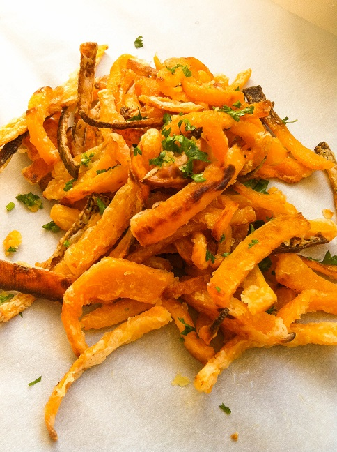 Butternut Squash Fries | Cooking with a Wallflower