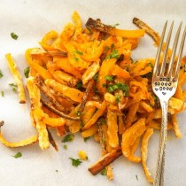 Butternut Squash Fries   Cooking with a Wallflower