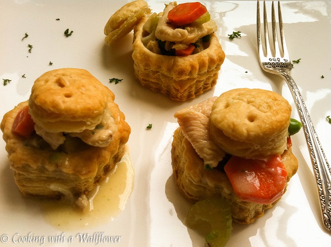 Chicken Pot Pie Puff Pastries 7