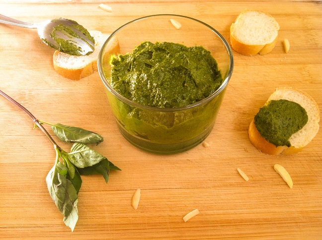 Fresh Basil Pesto | Cooking with a Wallflower