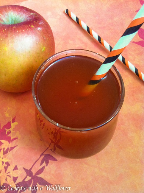Hot apple cider with a hint of cinnamon and nutmeg. Easy to make with ...