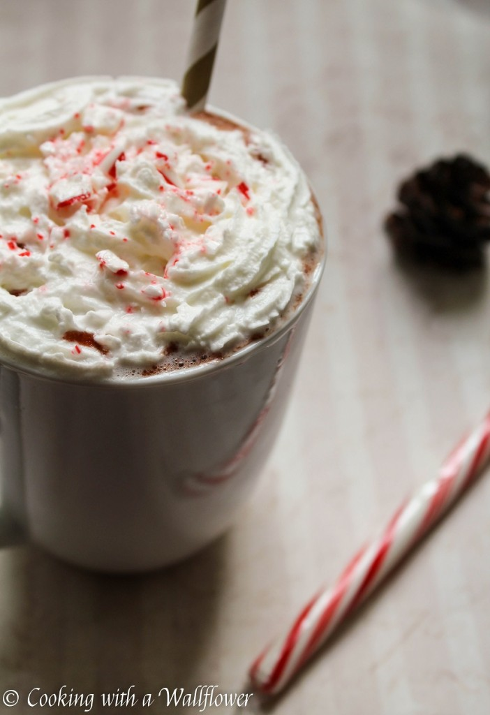 Peppermint Hot Chocolate | Cooking with a Wallflower