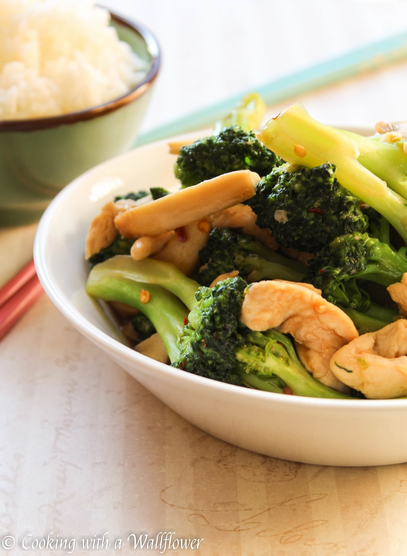 Broccoli, Mushrooms, And Chicken Stir Fry-5687