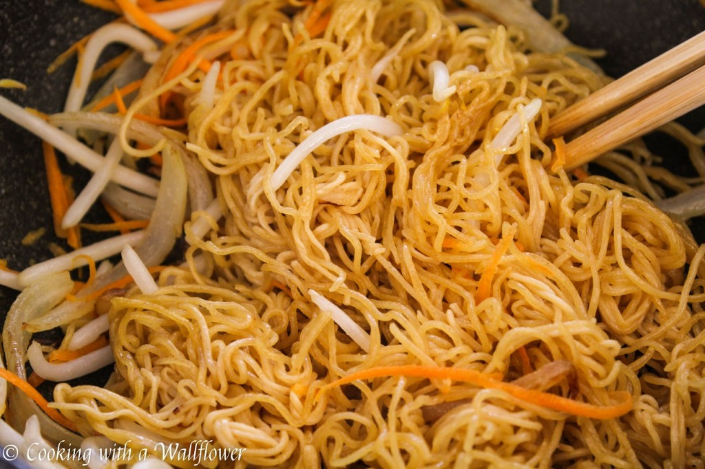 Easy Chow Mein | Cooking with a Wallflower