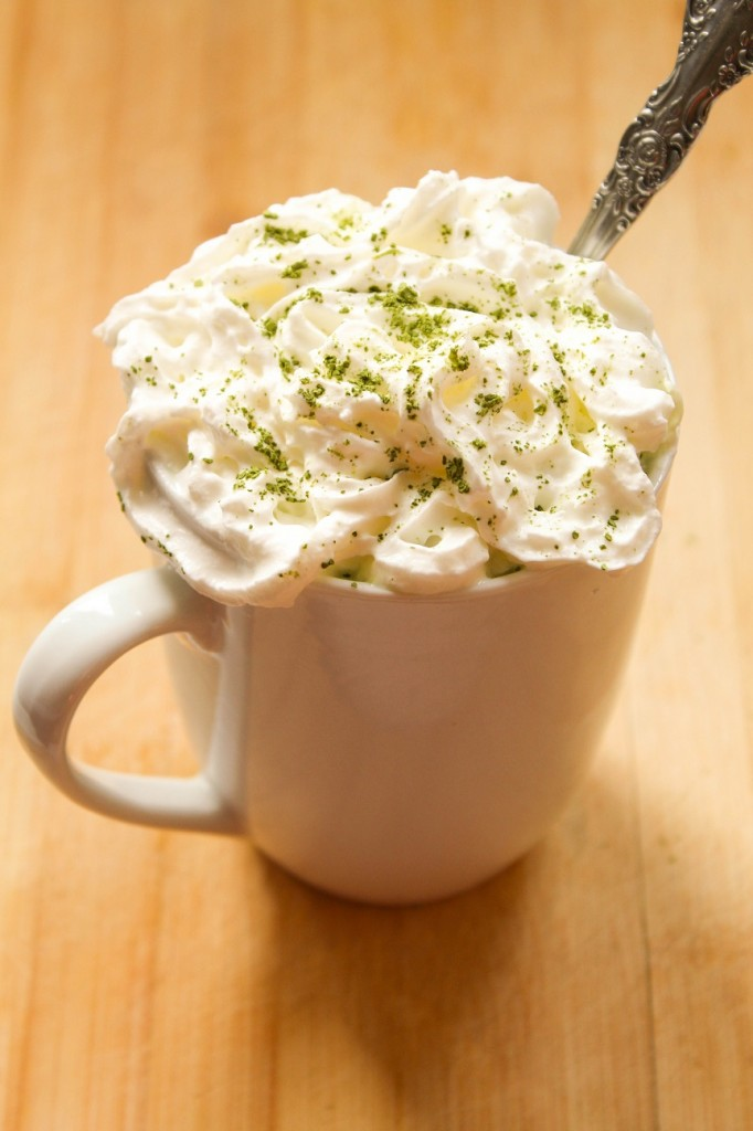 Green Tea White Hot Chocolate | Cooking with a Wallflower