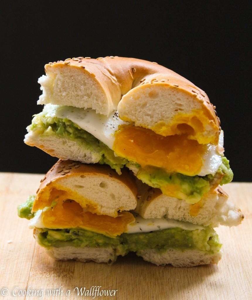Mashed Avocado and Egg Breakfast Sandwich   Cooking with a Wallflower