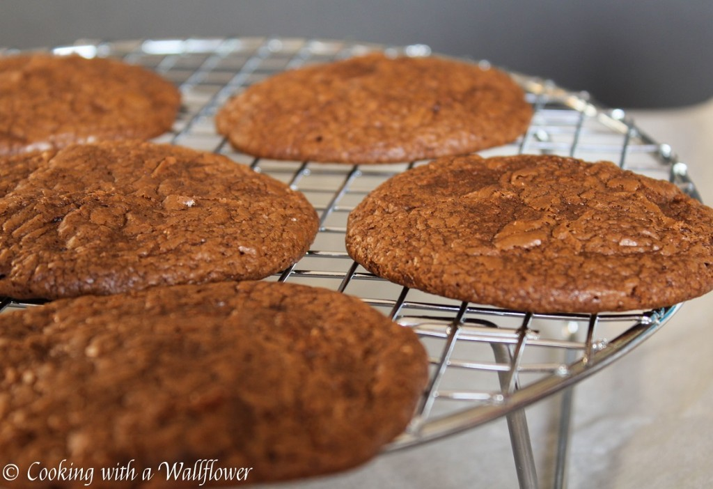 Chewy Brownie Cookies   Cooking with a Wallflower
