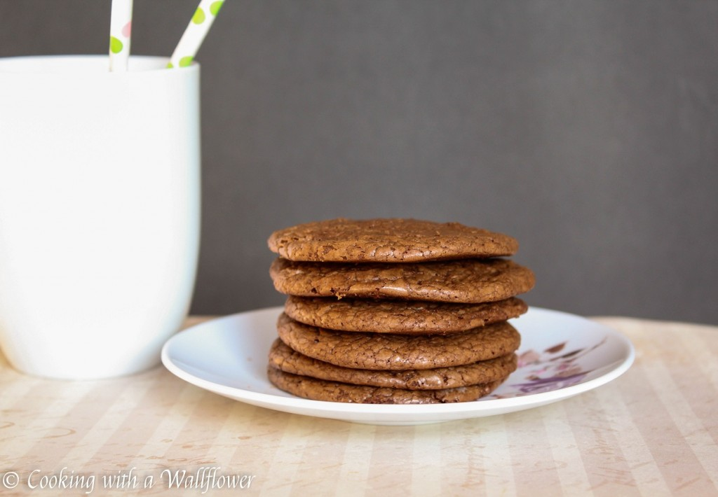 Chewy Brownie Cookies | Cooking with a Wallflower
