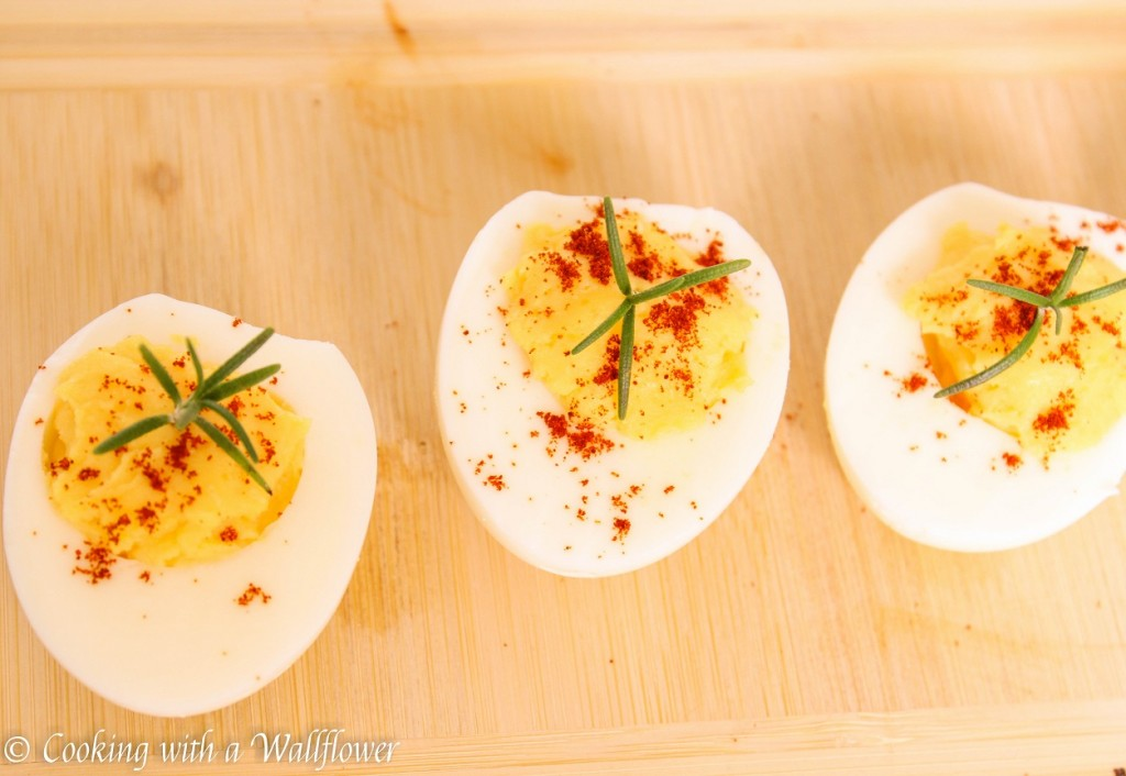 Easy Deviled Eggs | Cooking with a Wallflower