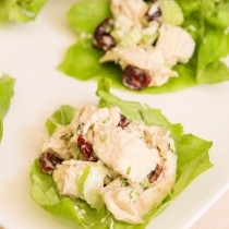 Chicken Tarragon Lettuce Wraps   Cooking with a Wallflower