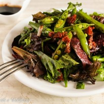 Roasted Asparagus and Snap Peas Spring Salad   Cooking with a Wallflower
