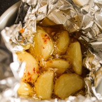 Roasted Garlic Butter   Cooking with a Wallflower