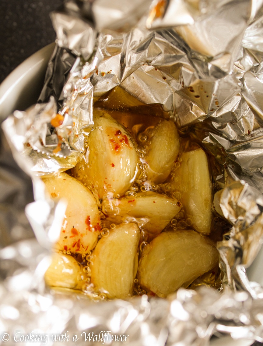 Roasted Garlic Butter - Cooking with a Wallflower