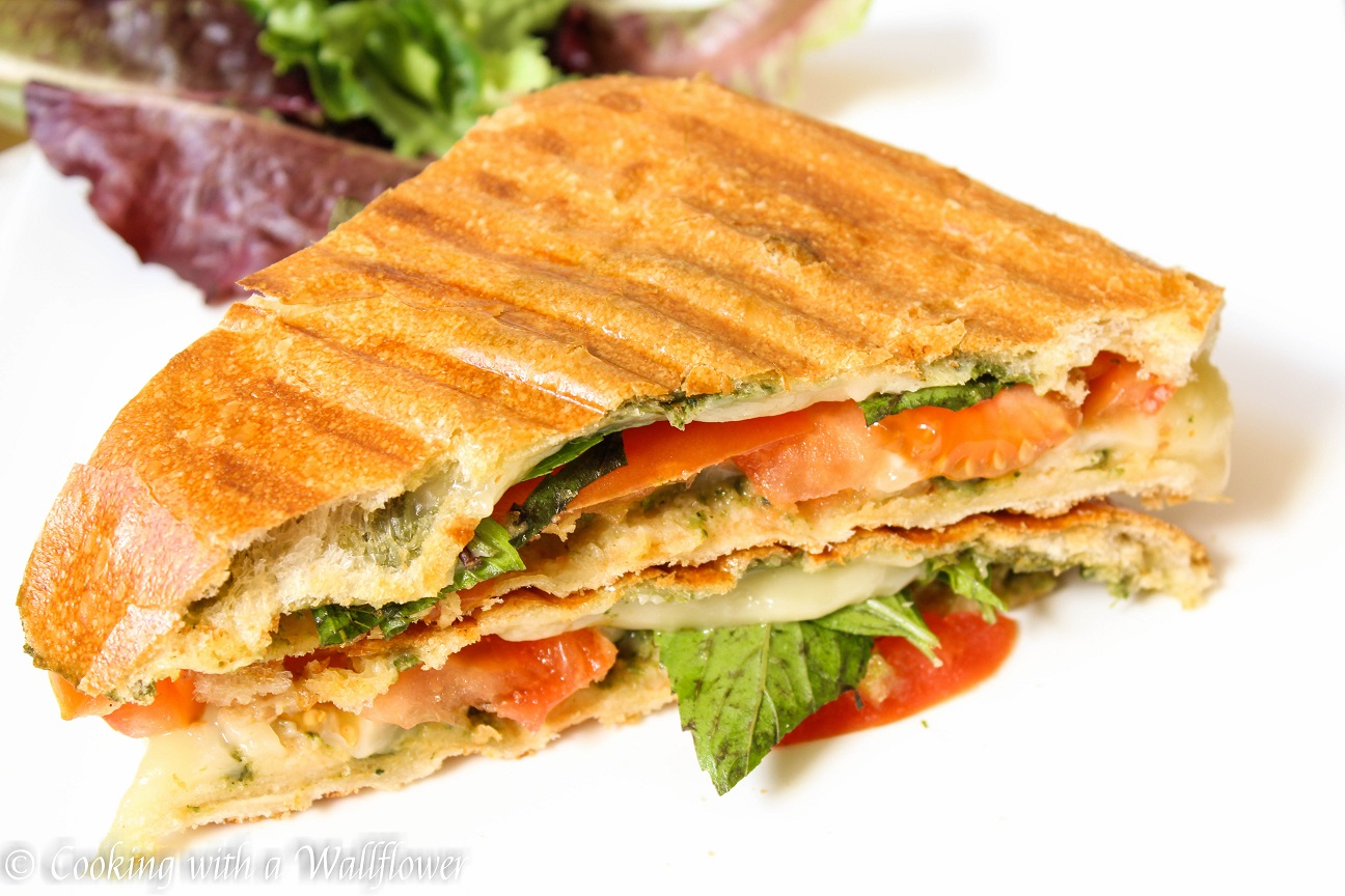 Kale Pesto, Tomato And Fontina Sandwich Recipe — Dishmaps