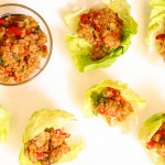 Asian Quinoa Lettuce Wraps