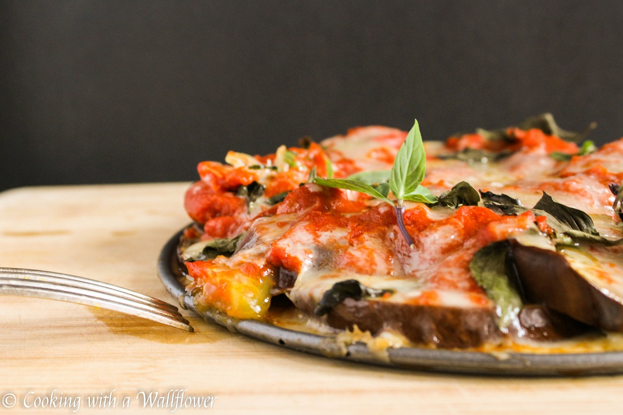 Baked Eggplant Parmesan Cooking With A Wallflower
