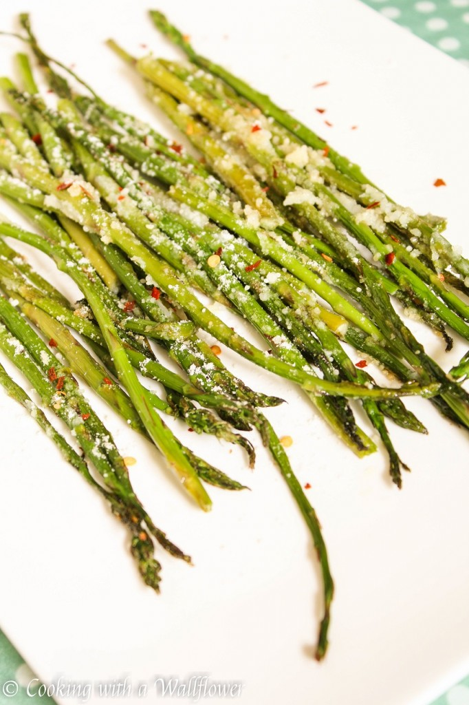 Roasted Parmesan Asparagus | Cooking with a Wallflower