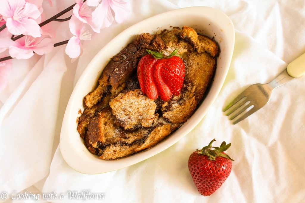Baked Nutella French Toast | Cooking with a Wallflower
